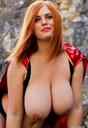 Big Tits Outdoors